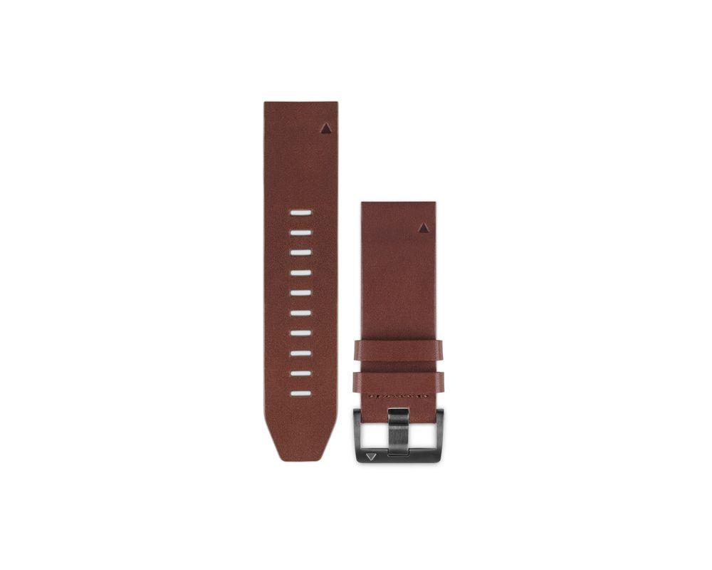 garmin bracelet f nix 5 quickfit cuir marron 010 12496 05 montres outdoor et gps iceoptic. Black Bedroom Furniture Sets. Home Design Ideas
