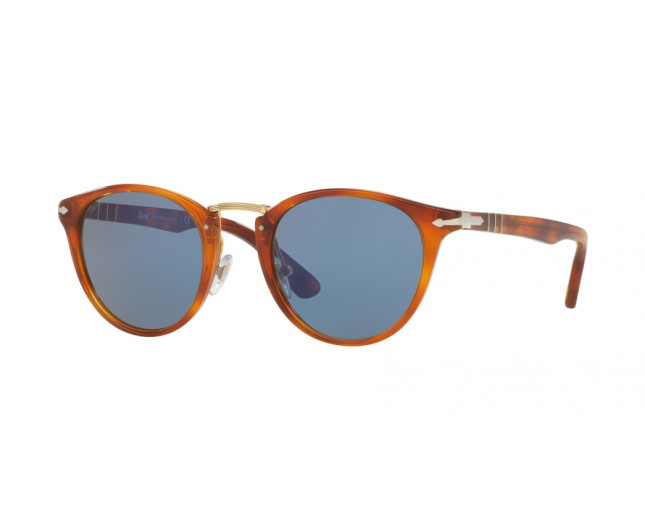 f03753d67ed Persol 3108S Typewriter Edition Havana Blue Faded - PO3108S 96 56 ...