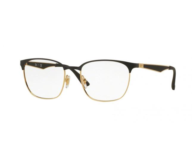 50651736eda9c Ray-Ban RX6356 Top Matte Black On Shiny Gold - RX6356 2875 o ...