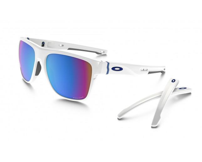 Oakley Crossrange XL 9360 Polished white-Prizm saphire snow - OO9360 ... 22c5ddc0682d
