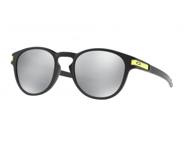 d1d206c6cec622 Oakley Latch Valentino Rossi Matte black-Chrome iridium - OO9265-21 ...