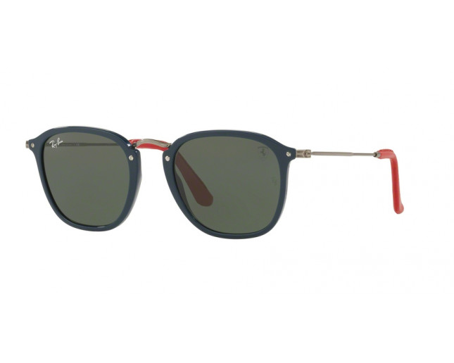 Ray Ban Scuderia Ferrari Collection Blue Green Lenses