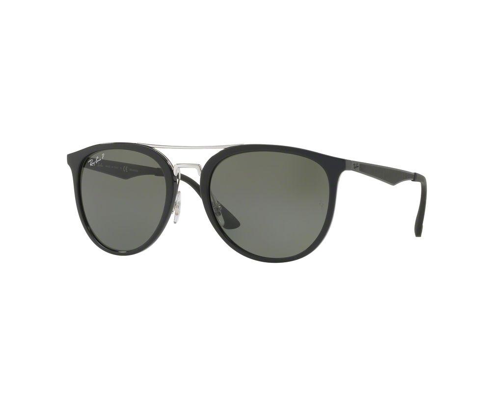a898bb055e Ray-Ban RB4285 Black Polar Green - RB4285 601 9A - Sunglasses - IceOptic