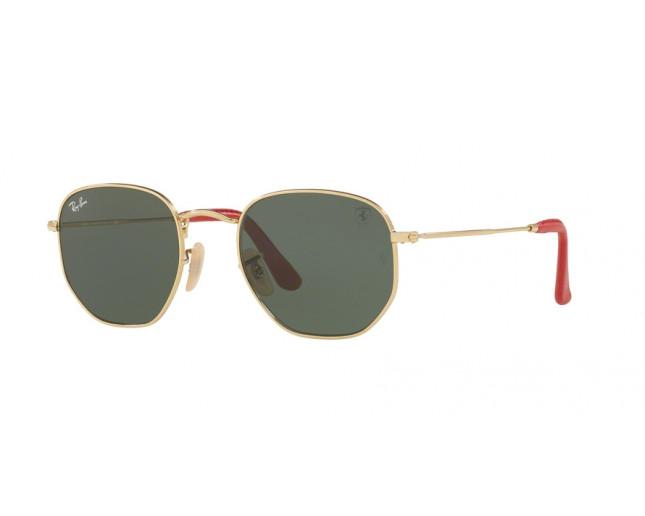 Ban Ferrari Gold Ray Green Hexagonal Scuderia Collection wOn08Pk
