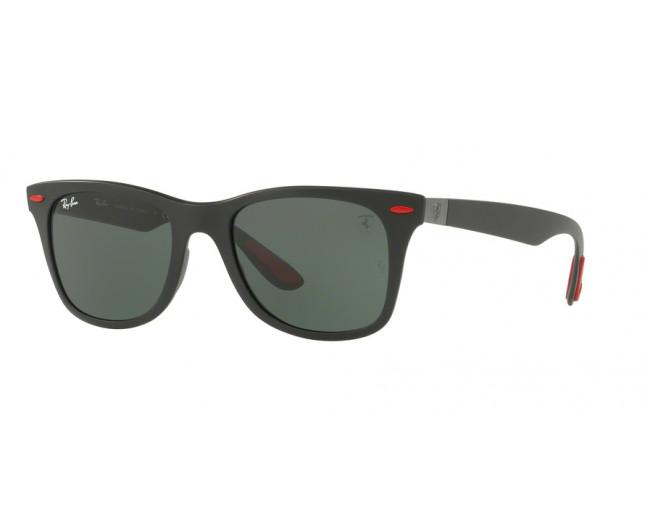 92570a7a0d1 Ray-Ban RB4195M Ferrari Edition Matte Black Dark Green - RB4195M ...