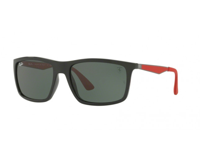 654ec61735 Ray-Ban RB4228M Limited Edition Scuderia Ferrari Black Green - RB4228M  F601 71 - Sunglasses - IceOptic