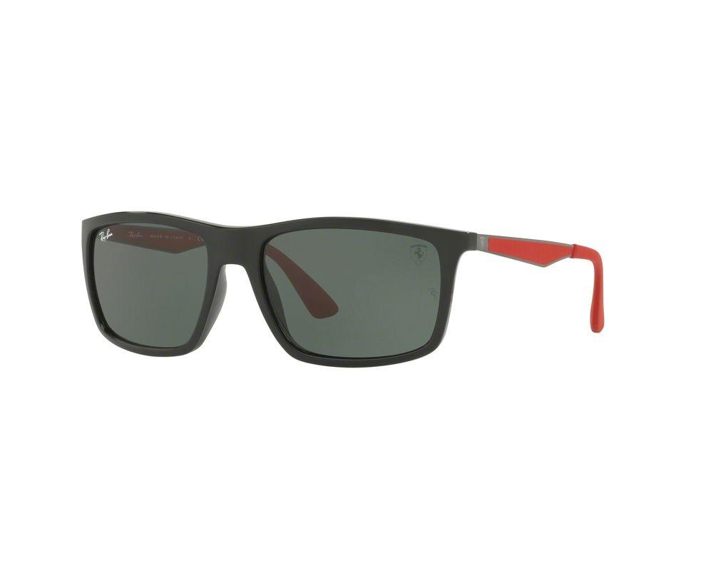cf1c6c863 Ray-Ban RB4228M Limited Edition Scuderia Ferrari Black Green - RB4228M F601/ 71 - Sunglasses - IceOptic