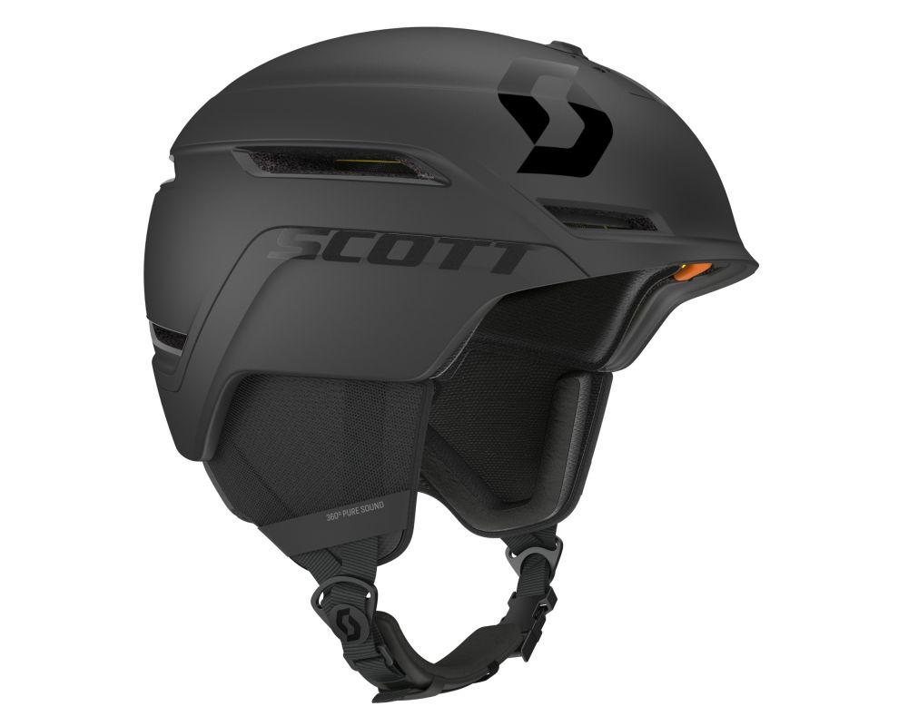 scott symbol 2 mips plus d black 254586 black casques. Black Bedroom Furniture Sets. Home Design Ideas