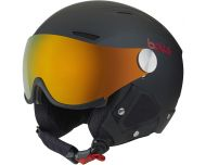 Bollé Backline Visor Prenium Black & Red 2 visières Fire Orange + Lemon
