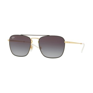 cc7a2ce626a Ray Ban RB3588 Gold on top Black Grey Gradient Dark Grey - RB3588 9054 8G -  Sunglasses - IceOptic