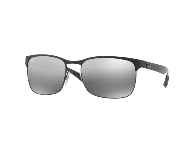 7a10ad112a9 ... Top On Matte Black Grey Mirror Grey Gradient Polar. RB8319CH 186 5J. Ray -Ban RB8310