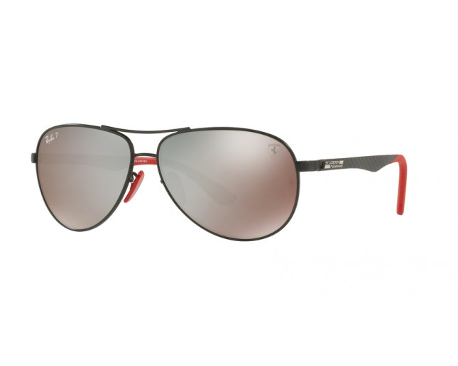 47e616ae39 Ray-Ban Tech Carbon Fibre Ferrari Edition Matte Black Polar Grey ...
