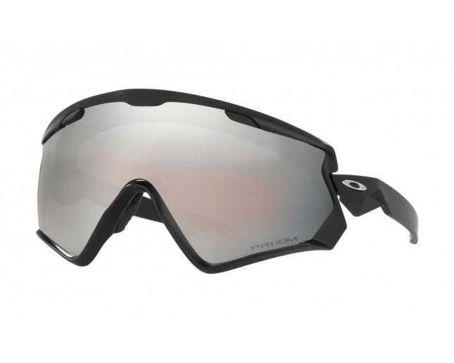 642188a0d78 Oakley Wind Jacket 2.0 Matte black-Prizm snow black iridium. OO9418-02.  Oakley Jaw breaker