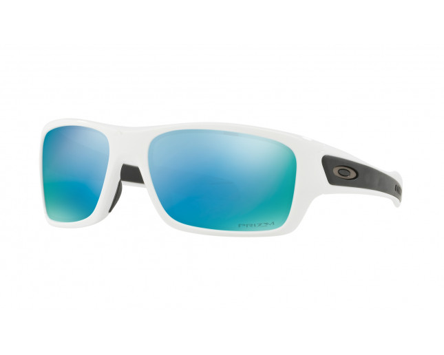 3a5a785dffb Oakley Turbine XS OJ9003 Polished white-Prizm Deep Water Polarized ...