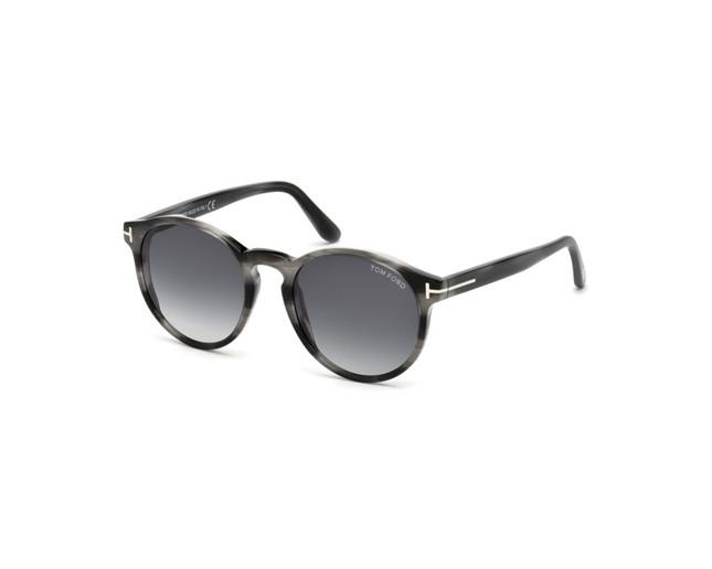 tom ford ian 02 grey grey smoke tf0591 20b lunettes de. Black Bedroom Furniture Sets. Home Design Ideas