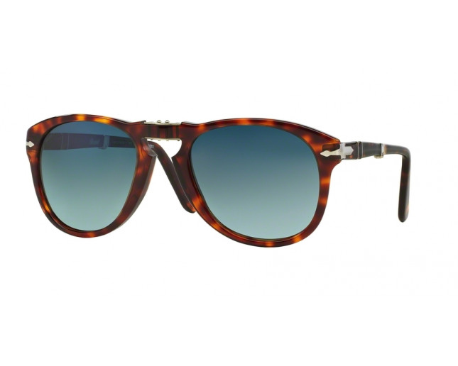c711cc37241d1 Persol 0714 Folding Madreterra Gradient Dark Blue Polar - PO0714 24 ...