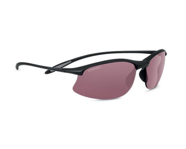 Serengeti Eyewear Sonnenbrille Maestrale, Satin Black, M/L, 7356