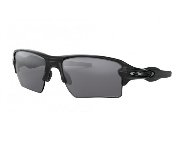 07876819bc Oakley Flak 2.0 XL Polished black-Prizm Black iridium polarisé ...