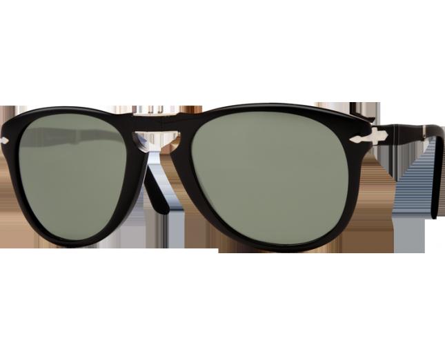 Persol 0714 Black Crystal Green