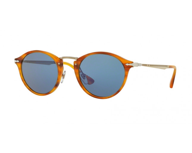 267c08faf1 ... Striped Brown Light Blue. PO3166S 960 56. Persol 3166S Calligrapher  Edition Black-Green polarized