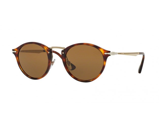 skate shoes huge inventory best Persol 3166S Calligrapher Edition Havana Brown polarized