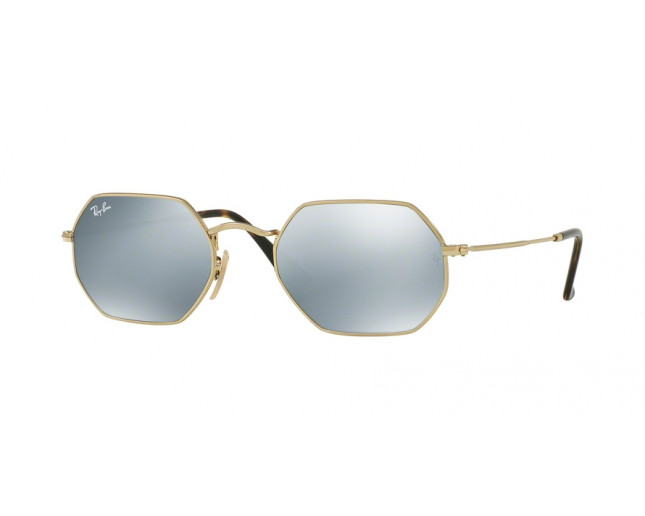 6bba8cf4a33 Ray-Ban RB3556N Gold Grey Flash - RB3556N 001 30 - Sunglasses - IceOptic