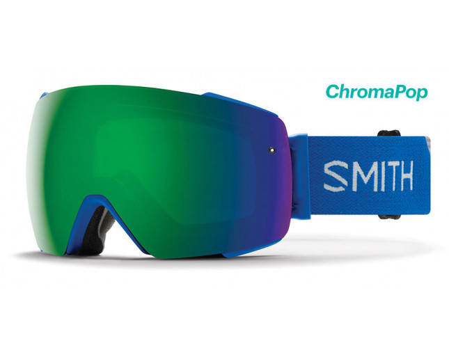 Smith I/O MAG Imperial Blue 2 écrans ChromaPop Sun Green Mirror & ChromaPop Storm Rose Flash