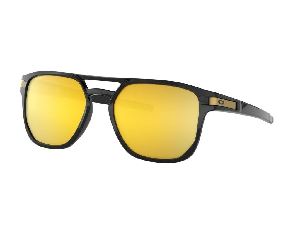 Collegato Assortimento Appassire  Oakley Latch Beta Polished Black-Prizm 24k Polarized - OO9436-04 -  Sunglasses - IceOptic