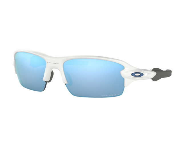 e842b0f61f Oakley Flak XS Polished White-Prizm Deep Water Polarized. OJ9005-06. Oakley  Flak 2.0 XL Polished White-Prizm Sapphire iridium