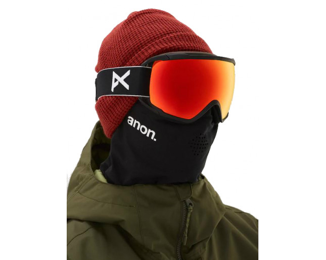 2cdf0fffd53 Anon Circuit MFI Black Sonar Red by Zeiss - 185491 054 - Ski Goggles -  IceOptic