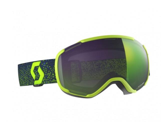 2f02d636def8 Scott Faze II Yellow Enhancer Green Chrome - 267605-YLLW-EGR - Ski ...