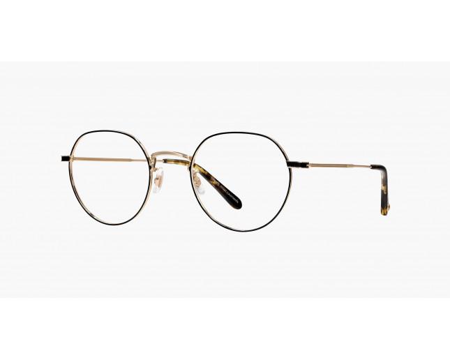 15ce2f15640 Garrett Leight Robson Gold-Black Amber - 3042-G-BKA - Eyeglasses - IceOptic