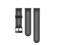 Suunto Bracelet Suunto 9 et Spartan Sport Writ HR Baro Black/Black S+M Silicone Strap 24MM Athletic 1