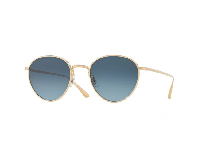 Oliver Peoples Brownstone Gold Marine Gradient - OV1231ST 5035Q8 o ...