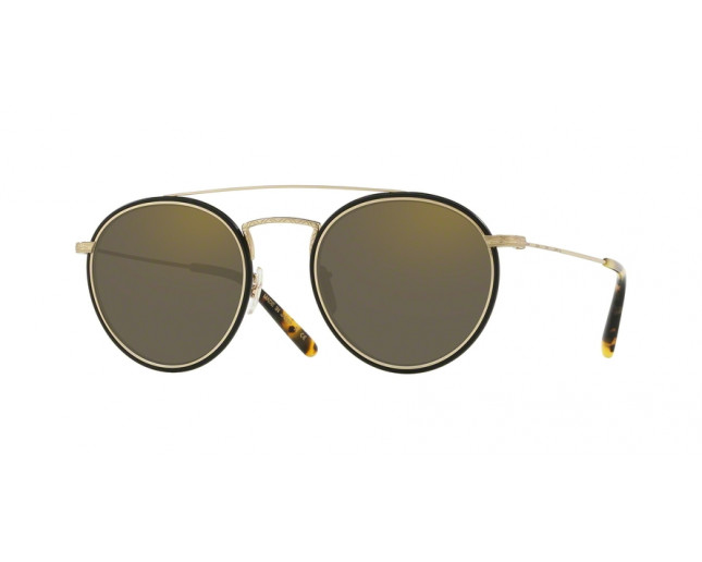 Oliver Peoples Ellice Soft Gold Grey Goldstone