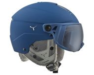 Cébé Casque de Ski Element Visor Matt Navy Chrome 2 visières Cat. 1 & 3