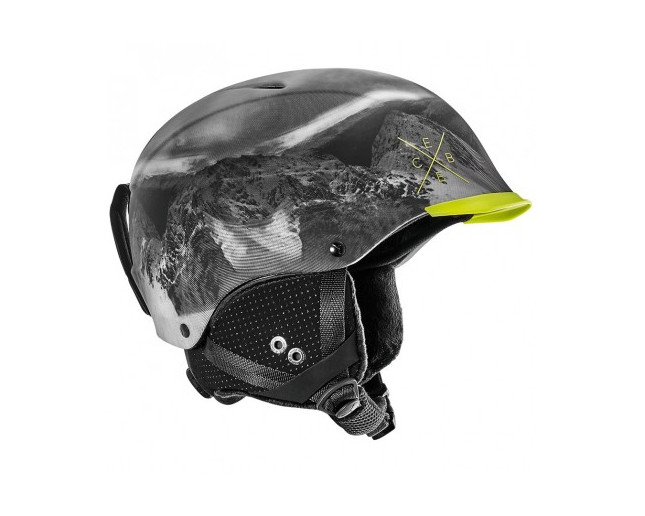 Cébé Casque de Ski Contest Visor Lime Mountain