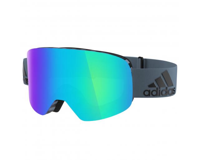 duradero en uso venta de descuento gama exclusiva Adidas Backland Raw Steel Blue Mirror (Antifog) - AD80/50 6069 - Ski  Goggles - IceOptic