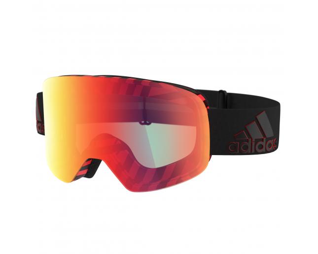 venta caliente barato descuento Amazonas Adidas Backland Black Red Light Red Mirror (Antifog) - AD80/50 6071 ICE -  Ski Goggles - IceOptic