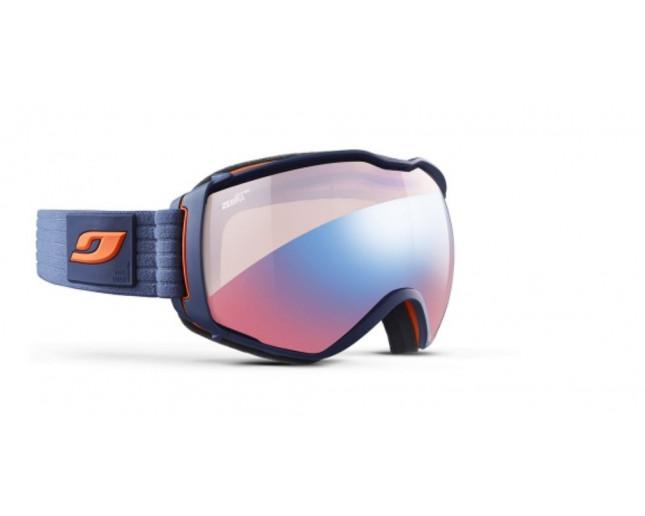 online retailer new specials 2018 shoes Julbo Masque de Ski Aerospace OTG Bleu sombre/Orange Zebra Light ...