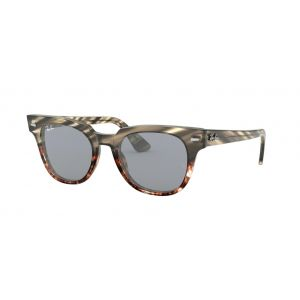 eefa45d377a2 Ray-Ban Meteor Grey Gradient Brown Stripped Blue Mirror Gold - RB2168  1254 Y5 - Sunglasses - IceOptic