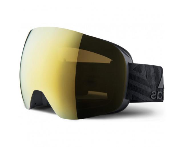 cómodo no relacionado alondra  Adidas Masque de Ski Backland Spherical Matt Black Gold (antifog) - AD86/75  9000 - Ski Goggles - IceOptic