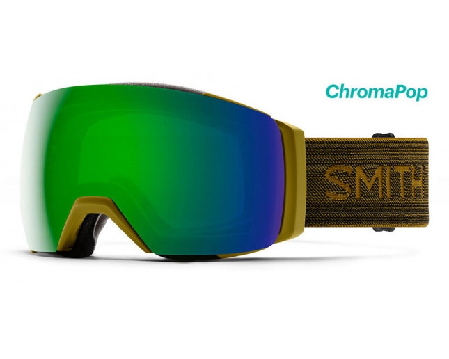 Smith I/O MAG XL Mystic Green 2 écrans ChromaPop Sun Green Mirror & ChromaPop Storm Rose Flash