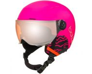 Bollé Quiz Visor Matte Hot Pink Orange Gun Visor Cat2 - Casque de Ski à visière Junior