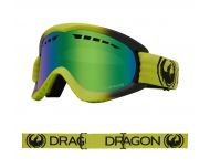 Dragon Masque de Ski DX Lime LumaLens Green Ionized