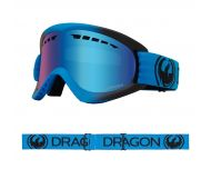 Dragon Masque de Ski DX Blueberry LumaLens Blue Ion