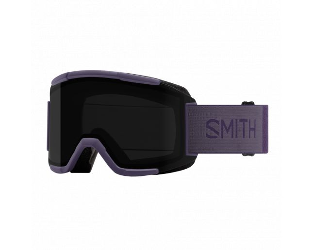 Smith Squad Violet 2 écrans ChromaPop Sun Black & Yellow
