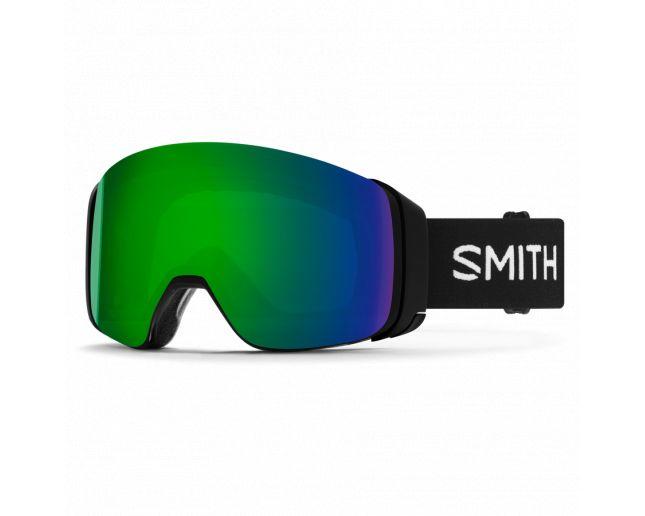 Smith I/O 4D MAG Black 2 écrans ChromaPop Sun Green Mirror & ChromaPop Storm Rose Flash