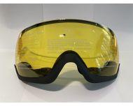 Cébé Fireball Vision Visière de Remplacement Yellow Flash Mirror cat.1 - Casque de Ski