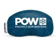 Google Soc X POW USA Protect our Winter Edition Blue Topo